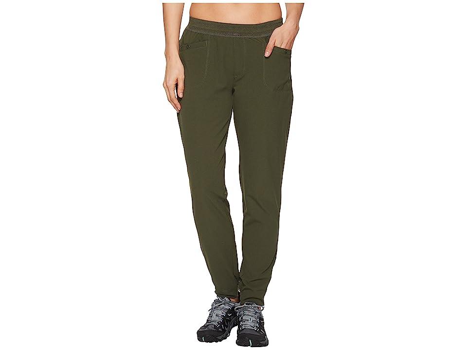 Mountain Hardwear Right Bank Scrambler Pants (Surplus Green) Women