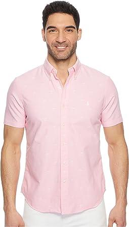 Oxford Short Sleeve Sport Shirt