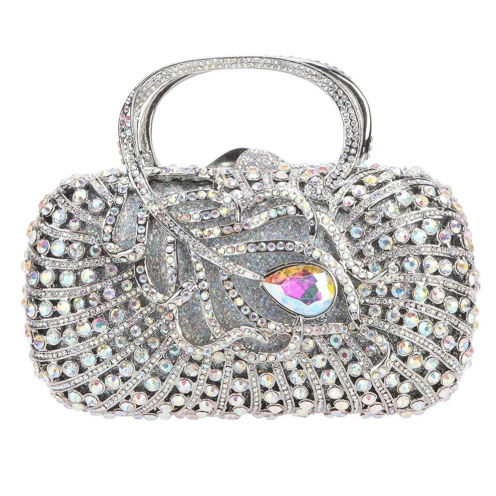 タイル個人縞模様の(ファウジーヤ) Fawziyaハンドル女性のイブニングバッグのためのダイヤモンドバッグとクラッチ財布