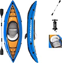 Bestway Hydro-Force Cove Champion Inflatable Kayak Set | Includes Double-Sided Paddle, Extra Storage, Grab Rope, Hand Pump...