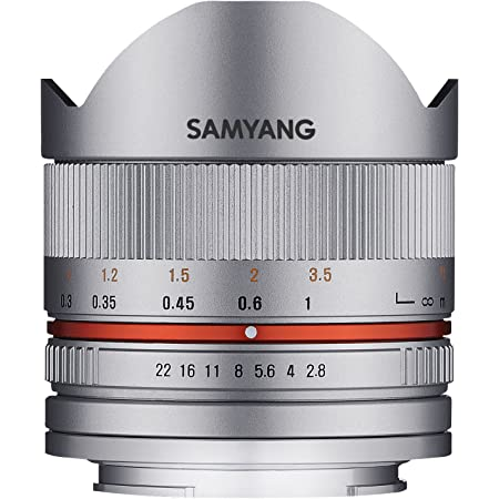Samyang 8mm F2 8 Ii Objektiv Für Anschluss Fuji X Kamera