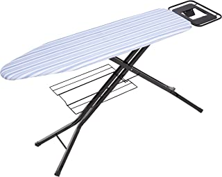 Honey-Can-Do Adjustable Deluxe Ironing Board with Iron Rest