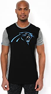 NFL Ultra Game Men's T-Shirt Raglan Block Short Sleeve Tee Shirt