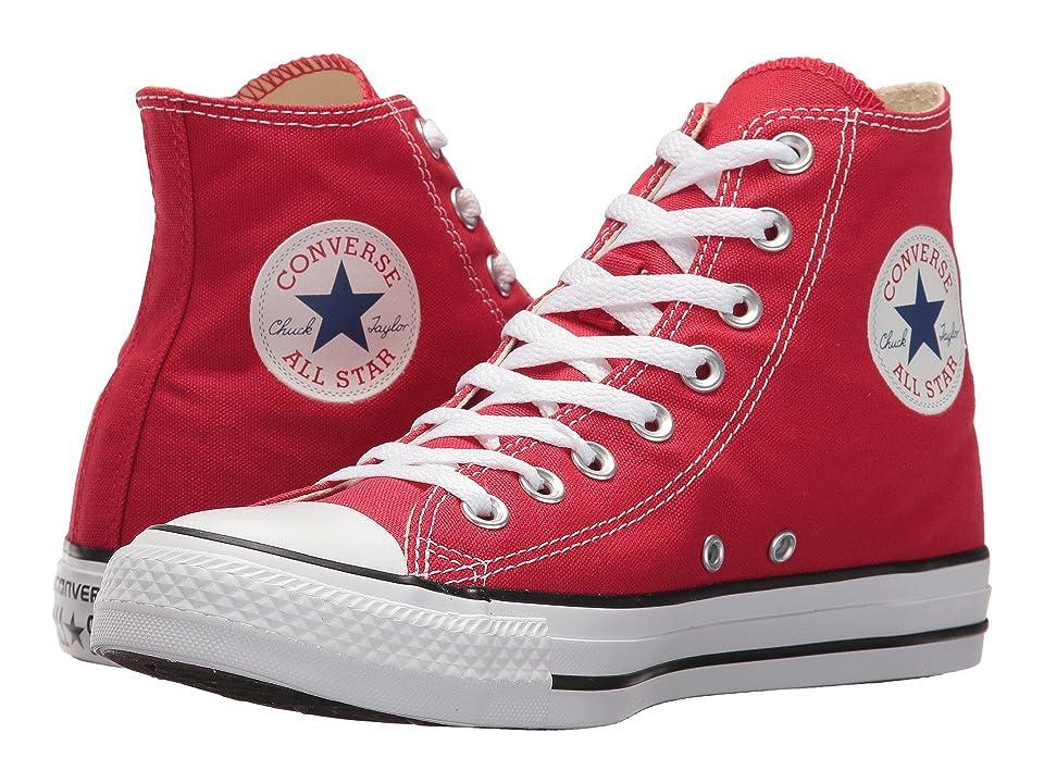 Converse Unisex Chuck Taylor All Star Core Hi Red , 6.5 B(M) US Women / 4.5 D(M) US Men