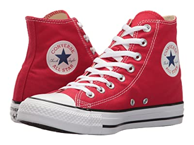 Converse Chuck Taylor(r) All Star(r) Core Hi (Red) Classic Shoes