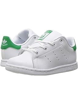exageración gorra Paisaje  Adidas originals kids stan smith toddler + FREE SHIPPING | Zappos.com