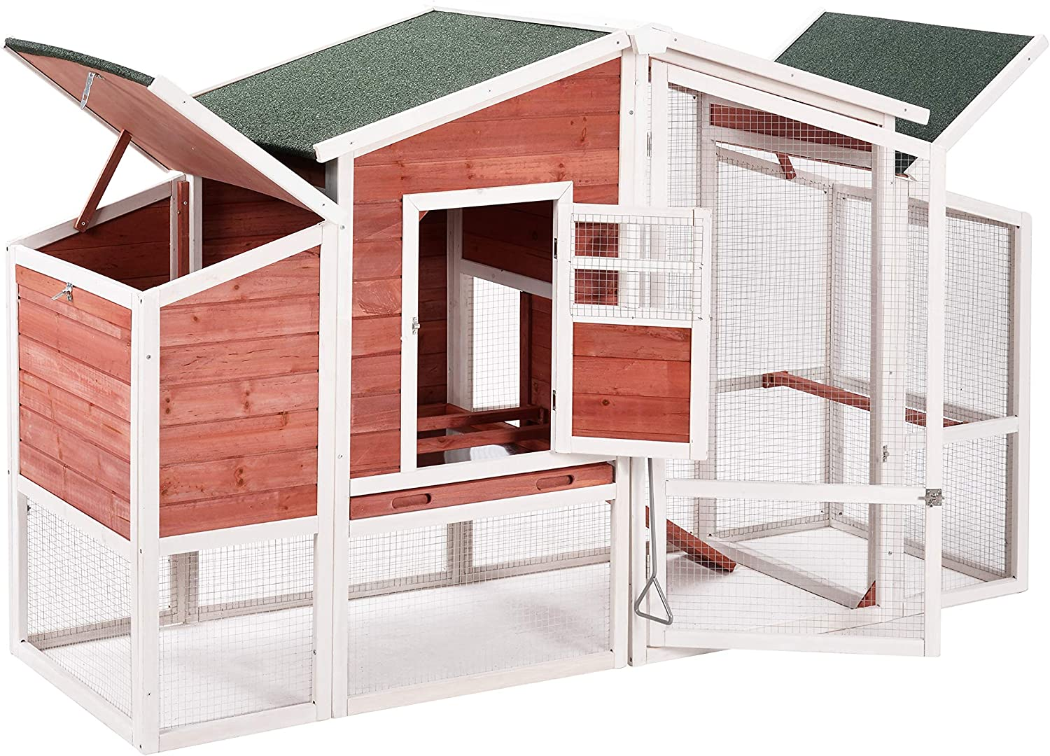 Chicken Classic Coop Rabbit House Wooden Cage Animal Small Cag Lowest price challenge