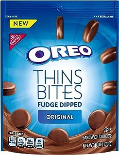 OREO Thins Bites Fudge Dipped Original Creme