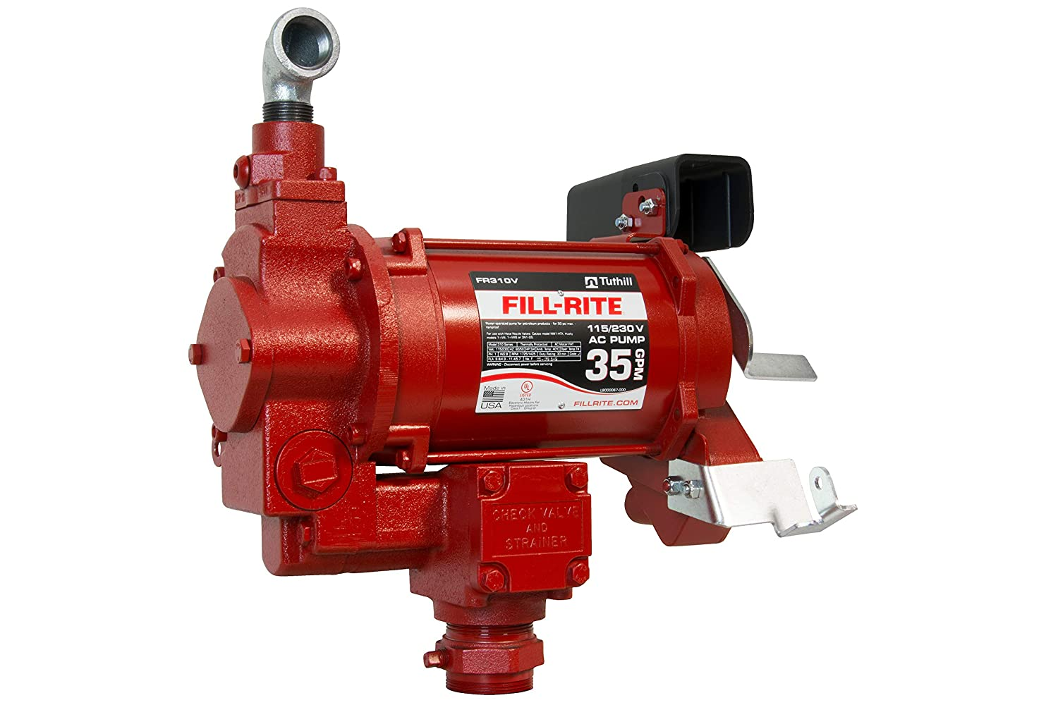 Fill-Rite FR310VN 115 230V 35 New sales Outlet sale feature Only Fuel GPM Pump Transfer