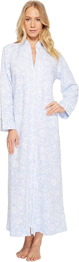 Quilted Zip Robe