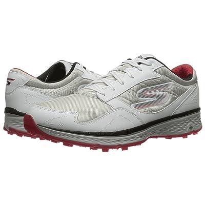 SKECHERS Go Golf Fairway (White/Black/Red) Men