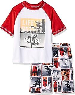 iXtreme Boys' Little Printed Rashguard Sets