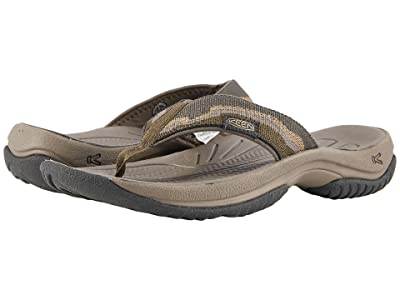 Keen Kona Flip (Dark Olive/Antique Bronze) Men