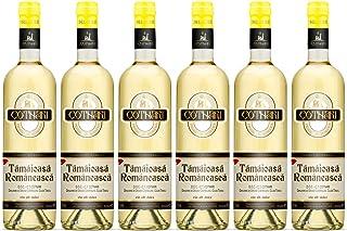 Cotnari | Tamaioasa Romaneasca – Rumänischer Weißwein süß | Weinpaket 6 x 0.75 L - Black Label - D.O.C. – C.T.  1 Kugelschreiber Amigo Spirits gratis