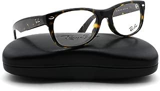 Ray-Ban RX5184 New Wayfarer Unisex Eyeglasses (Dark Havana Frame 2012, 50)