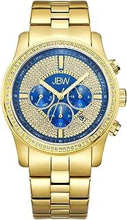 ساعة فانكويش فاخرة باطار مرصع بـ 42 ماسة للرجال من جيه بي دبليو