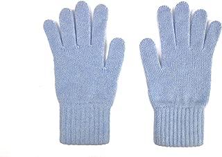 Ladies Cashmere Plain Glove Made In Scotland
