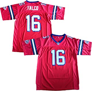 Best The Replacements #16 Shane Falco Washington Sentinels Movie Football Jersey Red Review