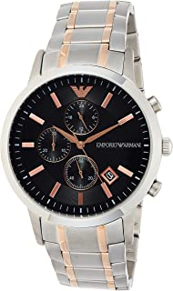 Emporio Armani Chronograph Two Colour Bracelet Watch - AR11165