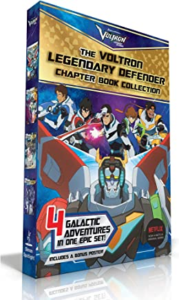 The Voltron Legendary Defender Chapter Book Collection: The Rise of Voltron / Battle for the Black Lion / Space Mall / The Blade of Marmora