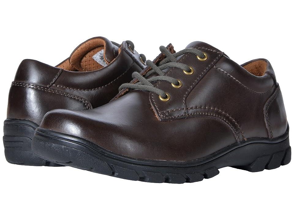 Florsheim Kids Getaway Plain Ox, Jr. II (Toddler/Little Kid/Big Kid) (Brown) Boys Shoes