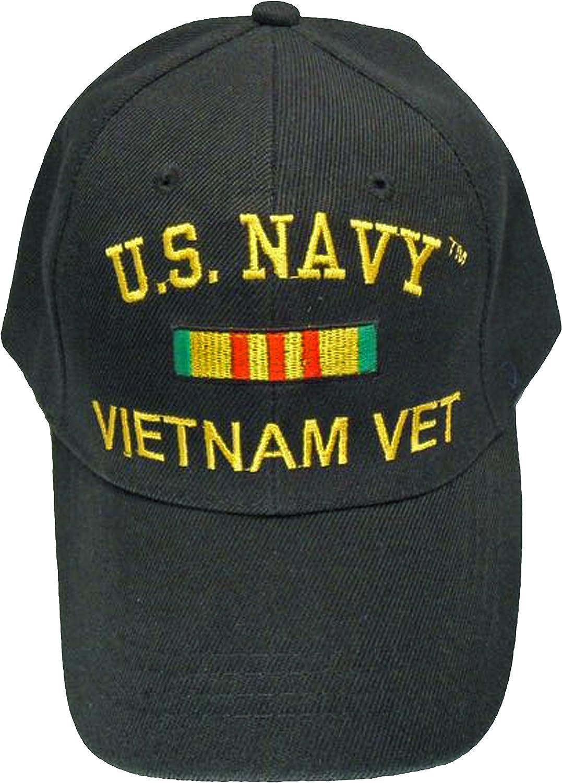 Buy Caps and Hats US Navy New mail order Vietnam Vet States cheap Black Cap Wa United
