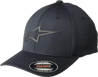 Men's Logo Flexfit Tech Hat, Cuvred Bill Structured Crown