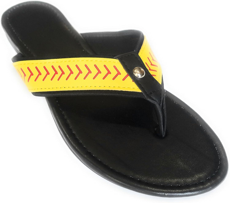 Jubilee Spirit Softball Flip Flops Sandals