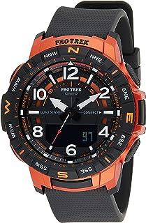 Casio Quartz Analog-Digital Black Dial Men's Watch PRT-B50-4DR