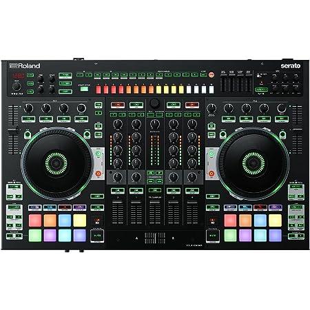 Roland, 4 DJ controller, BLACK, Four-Channel, Two-Deck (DJ-808)
