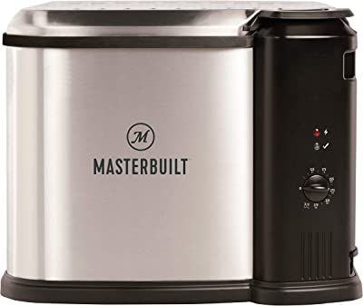 Masterbuilt MB20012420 Electric Fryer Boiler, Steamer, XL, Silver