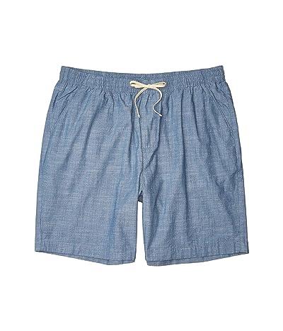 Nautica Big & Tall Big Tall 7 Boardwalk Shorts (Blue) Men