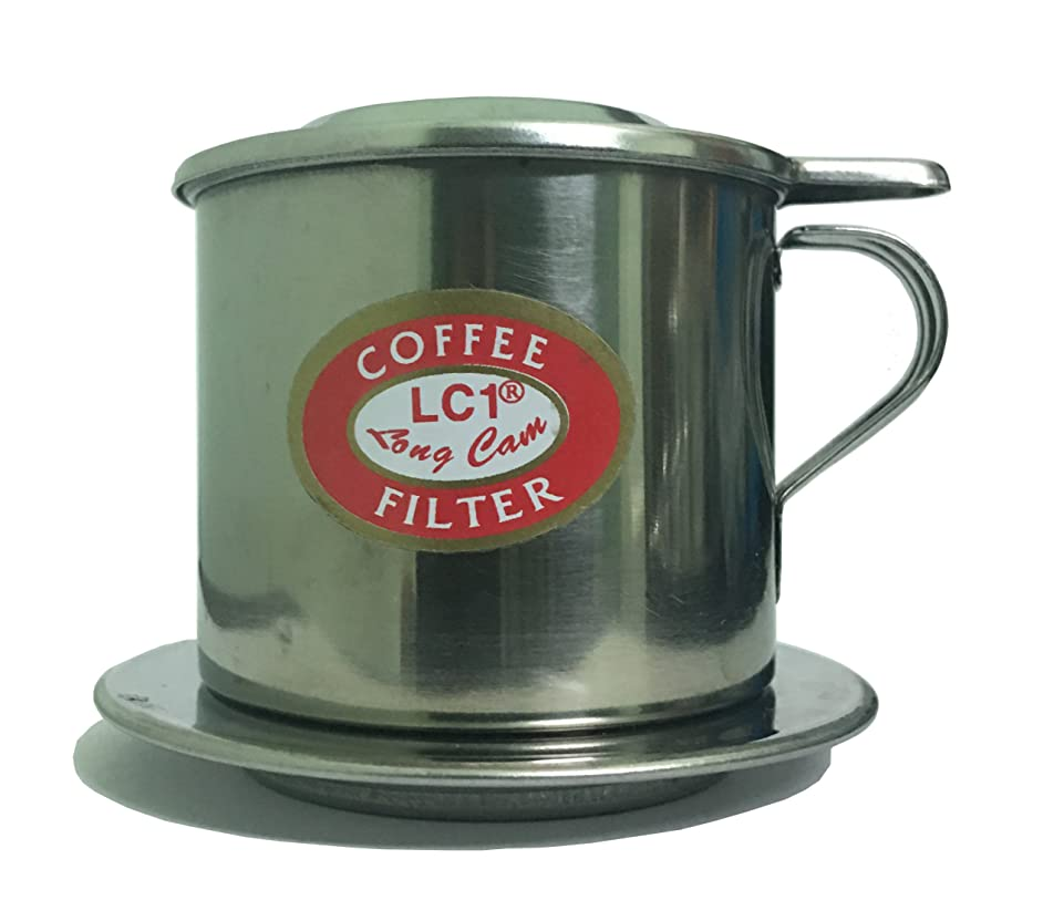 Vietnamese Coffee Filter Set, Phin To Brew A Delicious Single Serving Of Iced Cafe (Cà Ph S?a ?á) Made In Vietnam (1, 8Q)