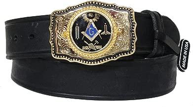 custom masonic belt buckles