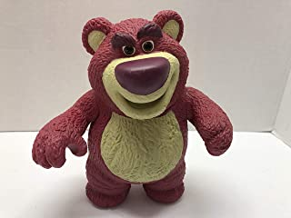 "Disney Toy Story 3 Lotso Teddy 3/"" PVC Figure Light Fan Pull Action Figurine Toy"