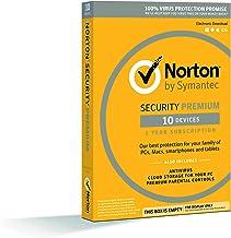نظام الحماية سيمانتيك نورتون بريميوم - 10 اجهزة، 1 سنة