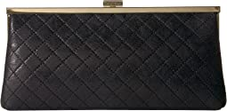 Evening Distressed Quilted Clutch