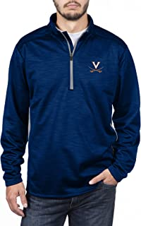 Top of the World Men's Poly Cross Dye Next Calibur Half Zip