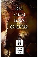 2021 Hindu Gods Calendar Kindle Edition