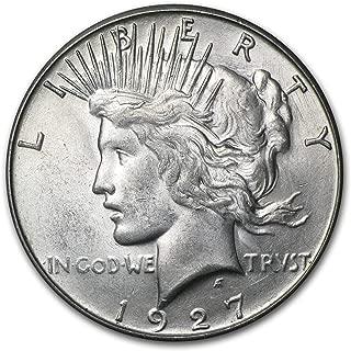 1927 S Peace Dollar BU $1 Brilliant Uncirculated