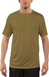 Vapor Apparel Men's UPF 50+ UV Sun Protection Short Sleeve T-Shirt