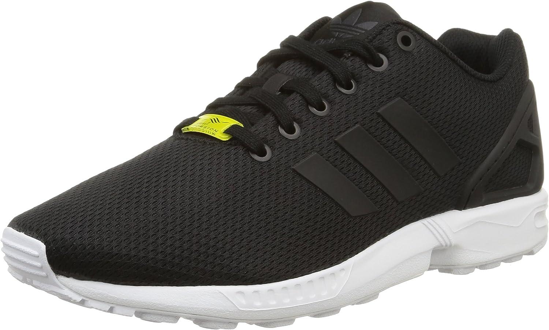 Adidas ZX Flux, Men Low-Top Sneakers, Black (Black Black White), 9 UK (43 1 3 EU)