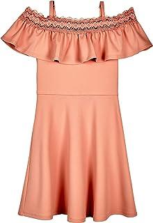فستان نسائي من Amy Byer ضيق وواسع على الكتف