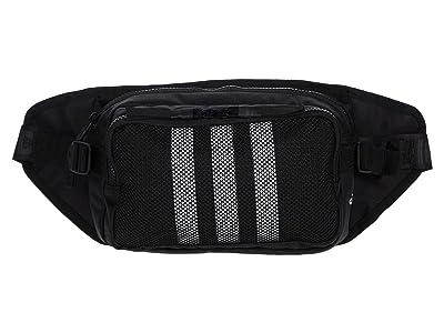 adidas Amplifier Crossbody (Black/White) Handbags