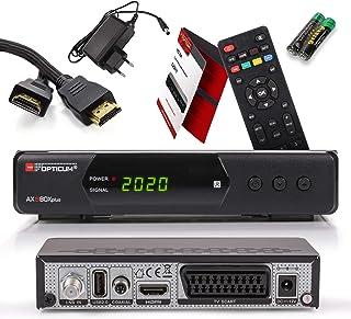 Opticum SBOX Plus Decoder Satellitare HD e Lettore Multimediale per TV SBOX – Decoder TV Full HD 1080p DVB-S/S2 - Cavo HDM...