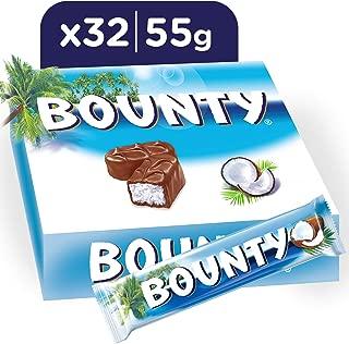 Bounty Milk Chocolate Bars, 55g x 32