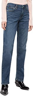 Women's Mid Rise Straight Fit Jeans