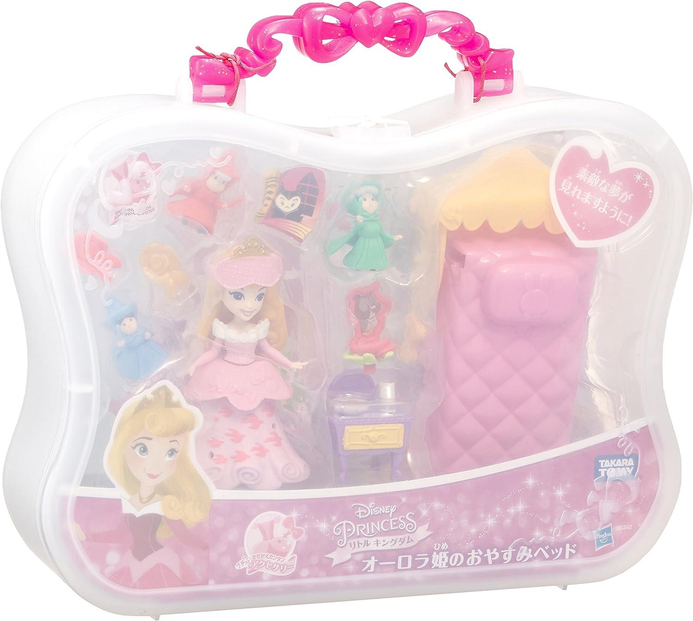 Good night bed of Disney Princess Little Kingdom Princess Aurora