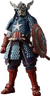 Bandai 58062-Marvel-Figuarts-Samurai Captain America-Action
