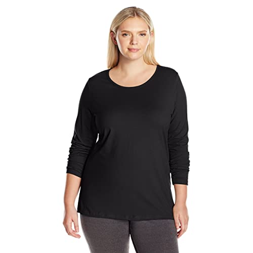 Just My Size Women s Plus Size Long Sleeve Tee 57c93e90d